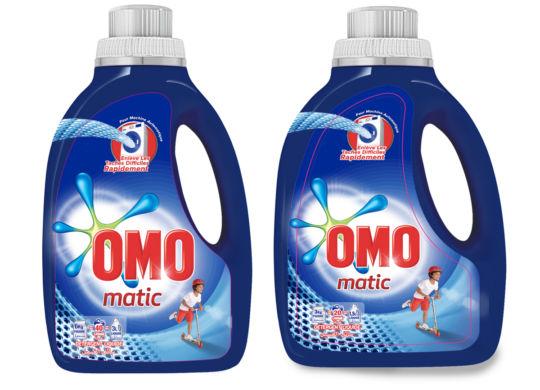 Omo Matic Lessive Liquide pour Machine à Laver